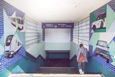 Ubahn Zugang